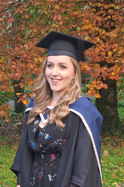 Cork Institute of Technology MBA graduate Ileana Wright Ross who was conferred with a First class Honours from the the first cohort of the new MBA class at CIT.