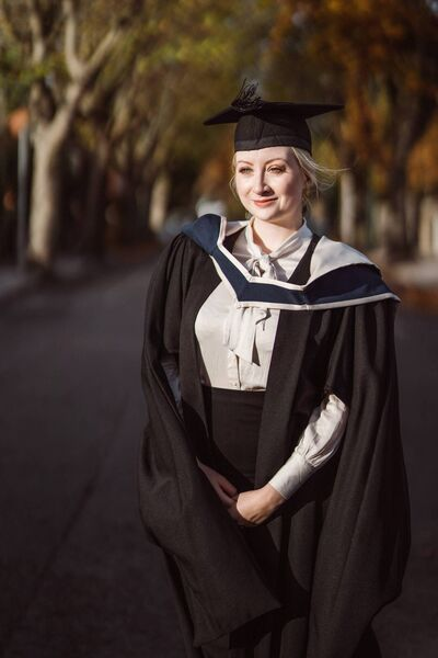Cork Institute of Technology MBA graduate Anna Maria Golm who was conferred with a First class Honours from the the first cohort of the new MBA class at CIT.