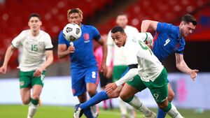 Five Cork players feature for Ireland but England cruise to Wembley victory