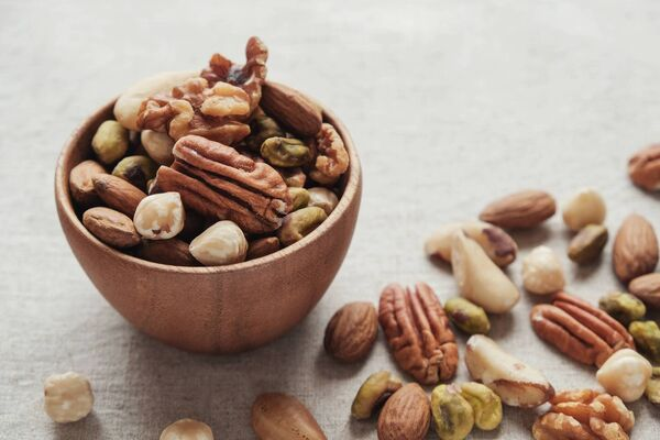 As well as being high in protein, fibre and essential fats, these hardy nut varieties also contain essential sleep supporting minerals like magnesium and zinc.