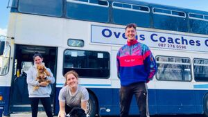 'Down the line, we hope to invest in a hot tub': Cork siblings turning a double-decker bus into an Airbnb