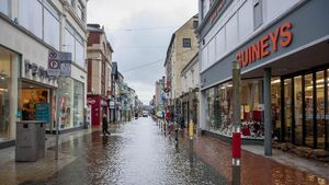 Flood warning for Cork City this weekend
