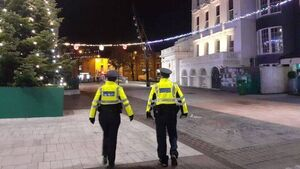 Gardaí say people in Cork city were 'overwhelmingly' compliant with guidance last night, nine people arrested