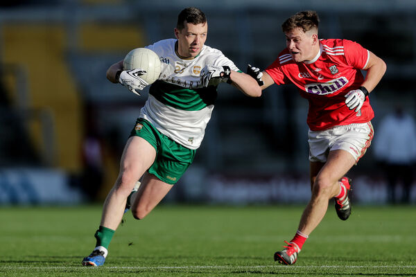 Tipperary's Liam Boland and Kevin O'Donovan of Cork. Picture: INPHO/Laszlo Geczo