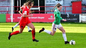 Cork City women's team are one win away from returning to FAI Cup final
