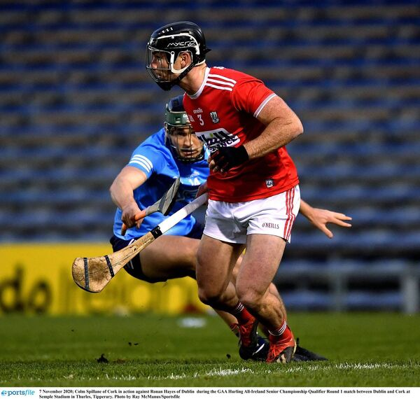 Colm Spillane helped transform the Cork defence at the weekend. Picture: Ray McManus/Sportsfile