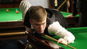 Aaron Hill faces a busy two weeks on the European tour with the prospect of a game against Ken Doherty on the horizon