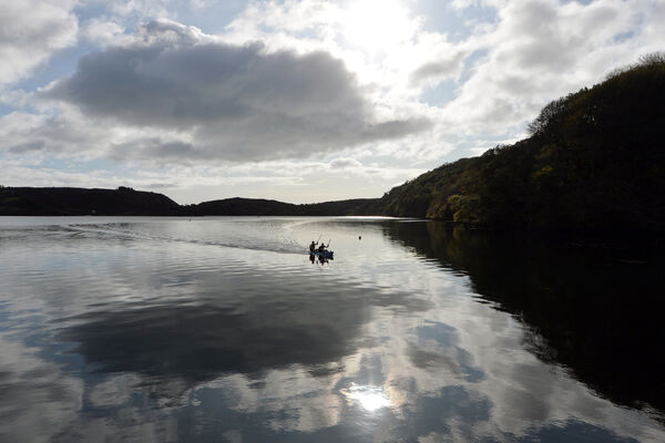 The stunning Lough Hyne in Co. Cork.