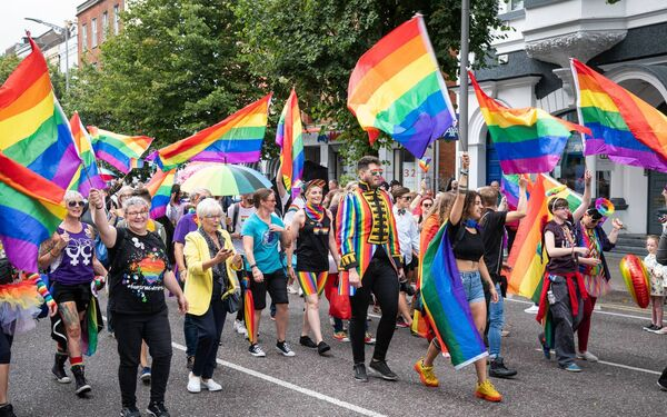 Pictured at Cork Pride 2019. The Cork LGBT+ Pride Board and Committee have reimagined Cork LGBT+ Pride Festival 2020 with an array of events taking place virtually.