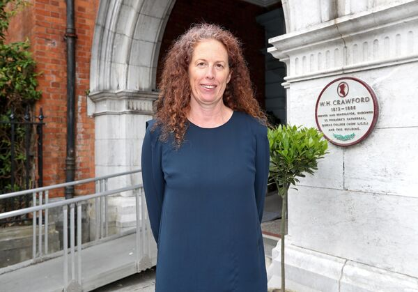 Mary McCarthy, Director of the Crawford Art Gallery. Picture: Jim Coughlan.