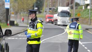 Gardaí to mount dozens of checkpoints: 'If we see our efforts being thwarted by public behaviour, we will inform the government'