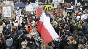 Campaigners against Poland's abortion laws plan largest protest yet