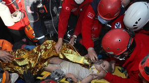 Rescuers pull girl from rubble four days after Turkey earthquake