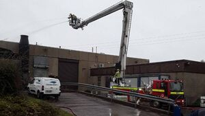 Roads re-open following fire at premises in East Cork