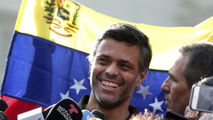Venezuelan opposition leader joins family in Spain after fleeing Caracas
