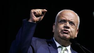 Palestinian official Saeb Erekat 'in critical condition'