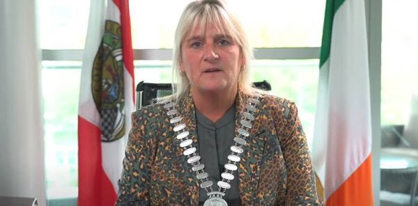 Mayor of Cork County Mary Linehan.
