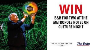 WIN B&B FOR TWO AT THE METROPOLE ON CULTURE NIGHT