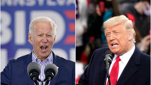 Donald Trump and Joe Biden enter final full week of campaigning