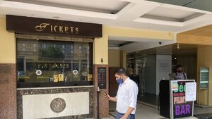 Cinemas reopening in parts of India after seven months of darkness