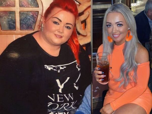 Leah Punch has lost a total of 10 and a half stone. Credit: Instagram/@bypassbyleah