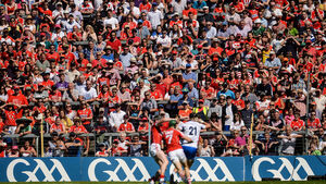 'We're honoured to be representing Cork in hurling during times like these'
