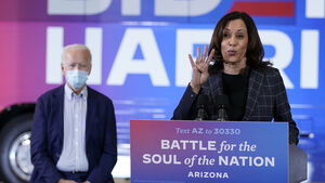 Kamala Harris suspends travel after aides test positive for coronavirus
