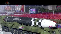 Japan vows to boost missile defence after North Korea parade