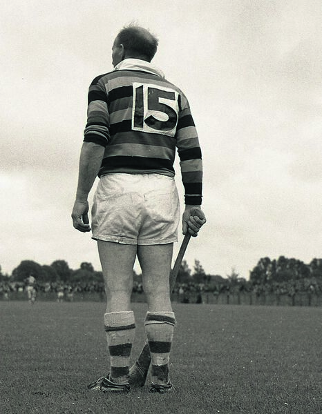 Christy Ring in his last game. Picture: Kevin Cummins