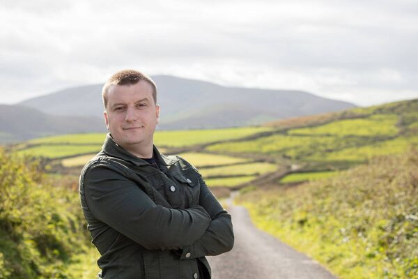 Cathal O'Reilly, author and campaigner for greater mental health supports