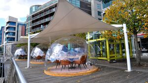 Cork restaurant gets great reaction to innovative dining pods