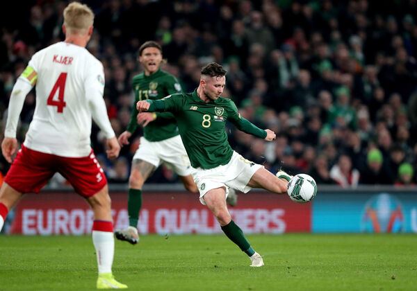 The sell-on clause for Alan Browne, along with Seanie Maguire, helped keep Cork City afloat. Picture: Niall Carson/PA Wire.