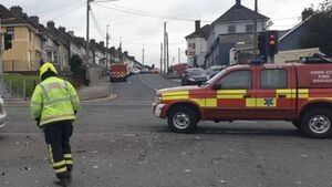Man (50s) taken to hospital after collision on northside of Cork city