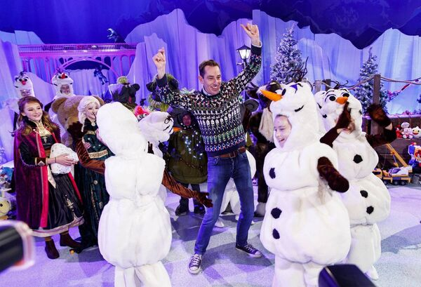 Last year's Late Late Toy Show's theme was 'Frozen'. The theme for this year's show is yet to be announced. Picture: Andres Poveda