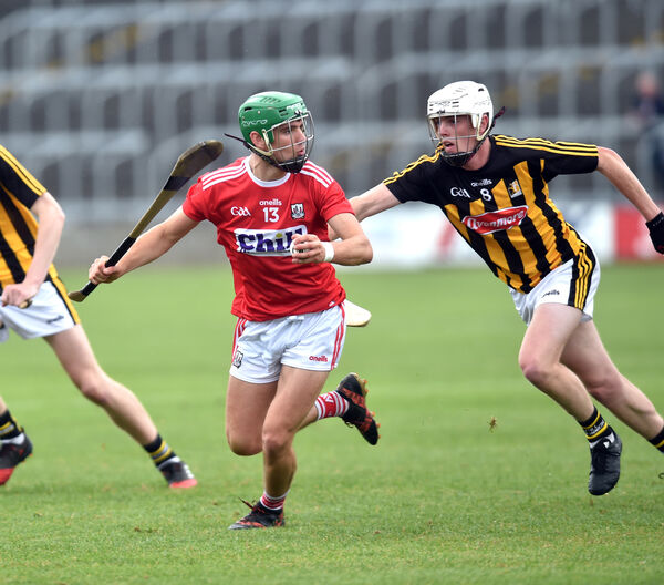 Brian Turnbull chased by Kilkenny's Conor Murphy. Picture: Eddie O'Hare