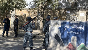 Gunfire erupts at Kabul University as police surround campus