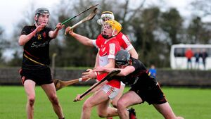 Liam O'Shea has been in deadly form guiding Lisgoold to county semis