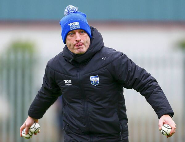 Waterford manager, Liam Cahill. Picture: INPHO/Ken Sutton