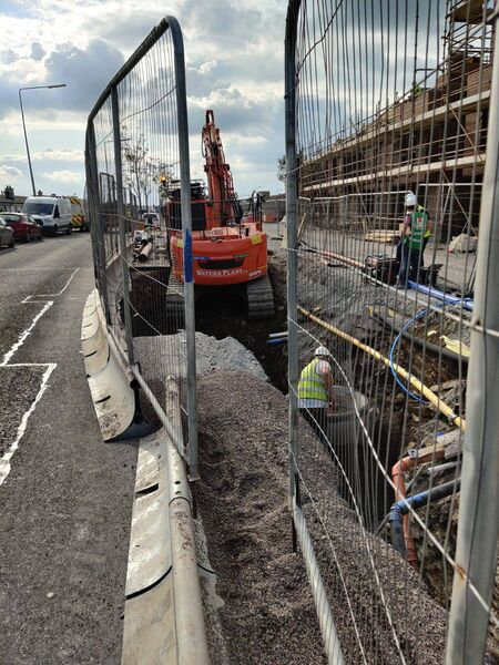 Works taking place on Kilmore Road this afternoon.