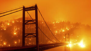'Unprecedented' number of fires rage across US states
