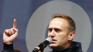 Russian opposition leader Navalny posts picture from German hospital