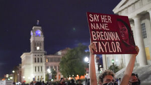 Protesters take to streets in fight for justice for Breonna Taylor