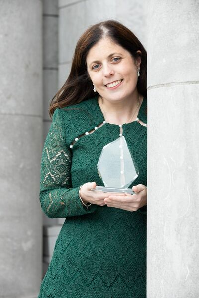Winner of Business Innovation at the Network Ireland Cork Businesswoman of the Year, Jenny Murphy, Red Balloon. Picture Darragh Kane