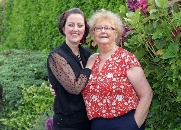 Sabrina Boyd, named Carer of the Year with her mum, Ann, former Carer of the Year in 2012.