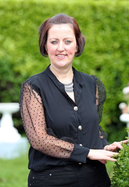 Sabrina Boyd, named Carer of the Year in Cork.