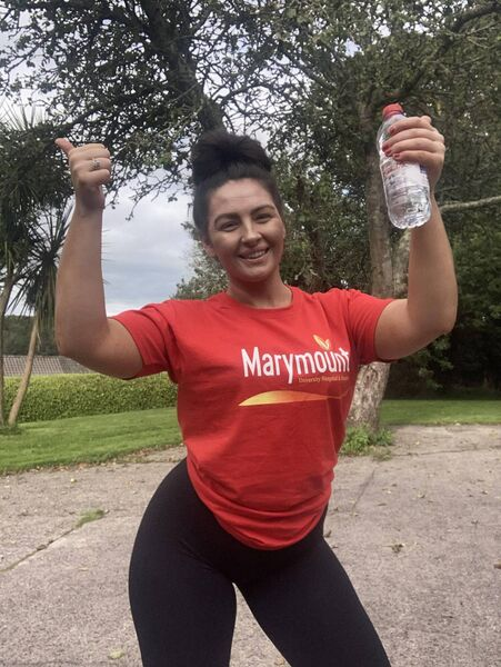 Ali Rose Sisk who is raising funds for Marymount in The Echo Virtual Women's Mini Marathon.