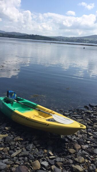 "ADVENTURE NEW: Bantry Blueway was introduced in 2015, but Cammy had never before ventured out on the route with her kayak. She said: ""Bantry Bay is certainly rich beyond measure in both cultural and natural heritage and begs to be explored."""