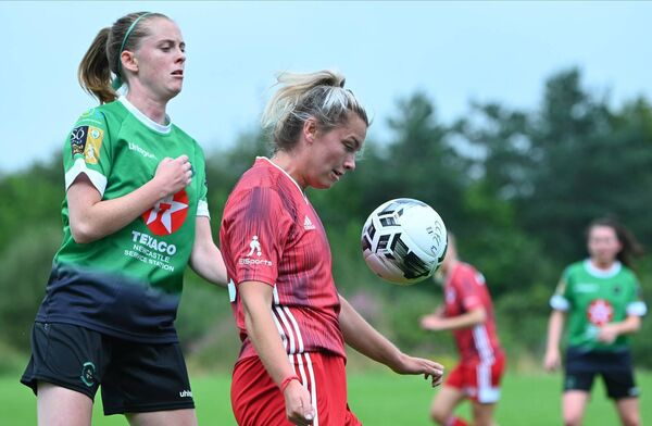 Saoirse Noonan of Cork City opened the scoring against Wexford.