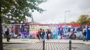 Cork is bursting with exciting street art colour!