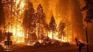 200 airlifted to safety as California wildfires rage